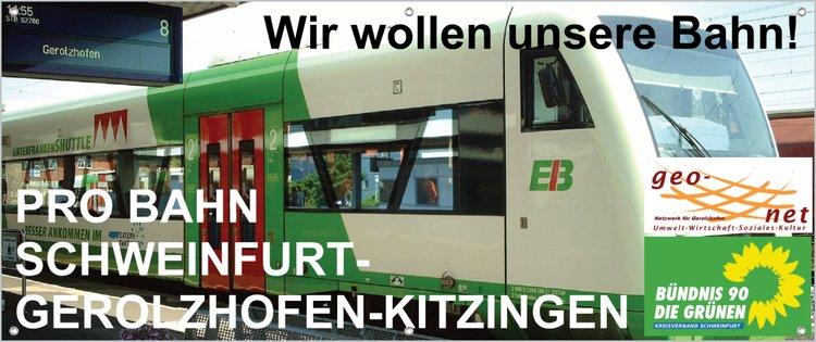 Steigerwaldbahn wurde in die Reaktivierungsliste des Verbands Deutscher Verkehrsunternehmen aufgenommen
